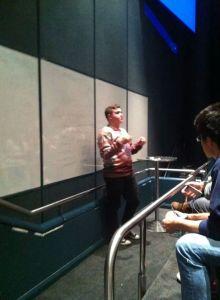 DANNY PREACHING